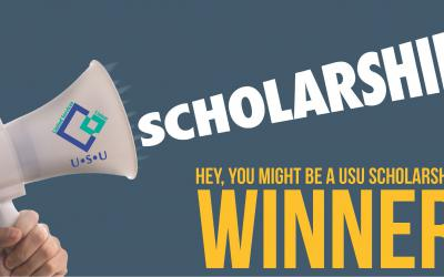 USU Scholarships are open!