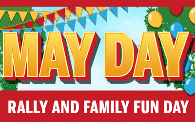 Join us for May Day 2018